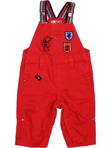 Salopette garçon DPAM rouge 6 mois hiver #1394222_1