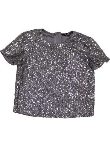 T-shirt manches courtes fille NEW LOOK violet 14 ans hiver #1394786_1
