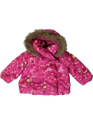 Abrigo niña JOHN LEWIS rosa 6 meses invierno #1395025_1