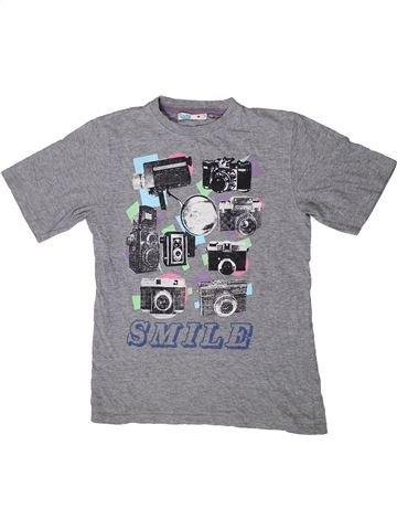 Camiseta de manga corta niño M&CO gris 12 años verano #1395057_1