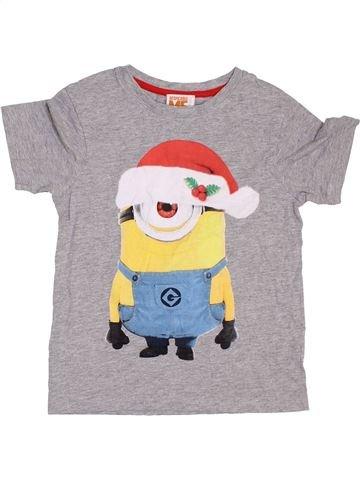 Camiseta de manga corta niño TU gris 7 años verano #1395058_1