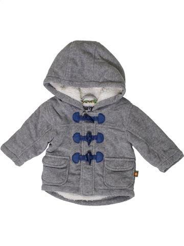 Abrigo niño BLUEZOO gris 3 meses invierno #1395087_1