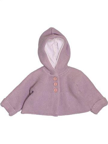 Gilet fille MARÈSE violet 1 mois hiver #1395267_1