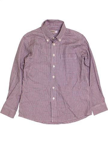 Chemise manches longues garçon OCSAV violet 8 ans hiver #1395967_1