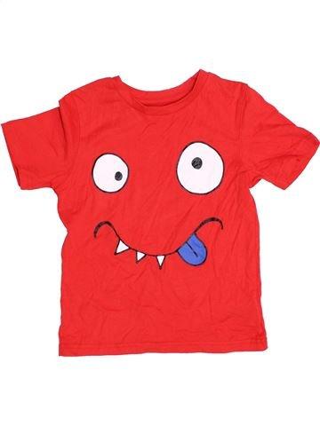 T-shirt manches courtes garçon MOTHERCARE rouge 6 ans été #1395989_1