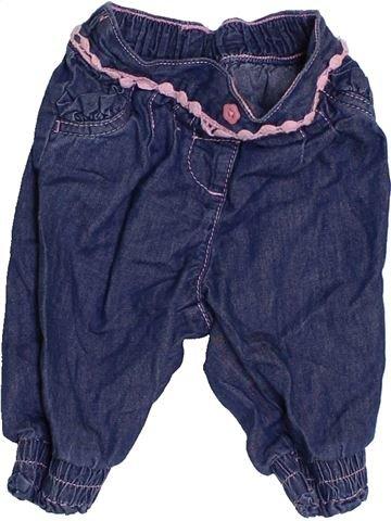 Pantalón niña LADYBIRD azul 3 meses verano #1396181_1
