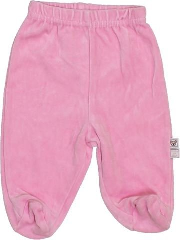 Pyjama 1 pièce fille GRAINE DE RÊVE rose 3 mois hiver #1396278_1