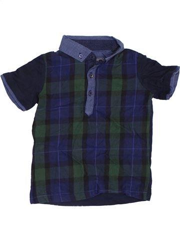 Chemise manches courtes garçon NEXT bleu 3 ans été #1396703_1