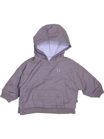 Manteau garçon OKAIDI gris 6 mois hiver #1396942_1