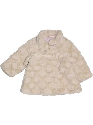 Manteau fille JASPER CONRAN blanc 9 mois hiver #1397005_1