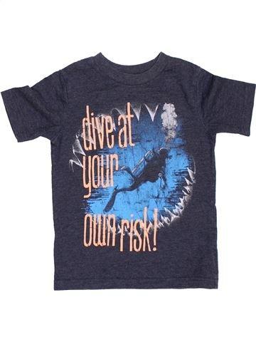 T-shirt manches courtes garçon GAP gris 5 ans été #1397021_1
