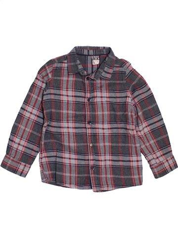 Chemise manches longues garçon TAPE À L'OEIL gris 3 ans hiver #1397234_1