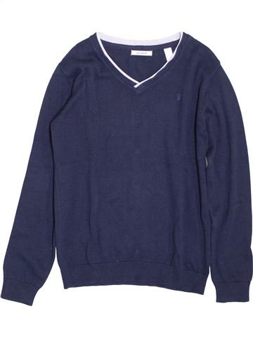 jersey niño OKAIDI azul 10 años invierno #1397434_1