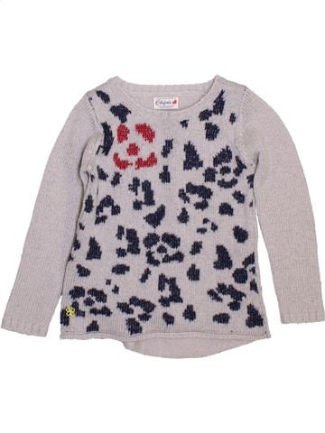 Pull fille CHIPIE gris 5 ans hiver #1397468_1