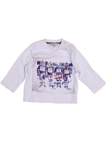 Camiseta de manga larga niño 3 POMMES gris 6 meses invierno #1397611_1