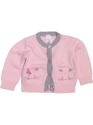 Chaleco niña C&A rosa 1 mes invierno #1397676_1