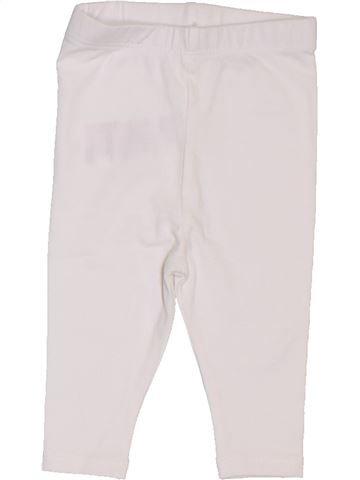 Legging niña VERTBAUDET blanco 1 mes invierno #1397692_1