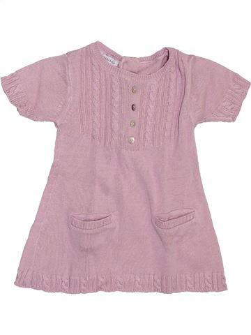 Vestido niña DPAM rosa 1 mes invierno #1397705_1
