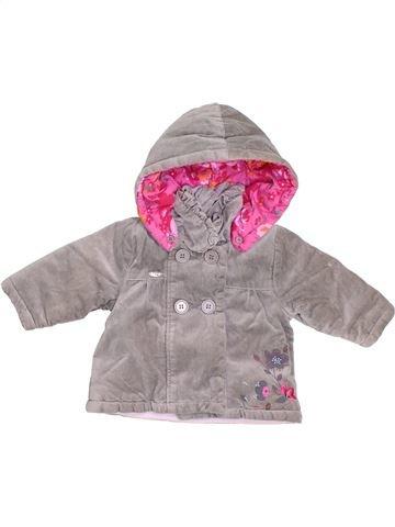 Abrigo niña SUCRE D'ORGE gris 6 meses invierno #1397781_1