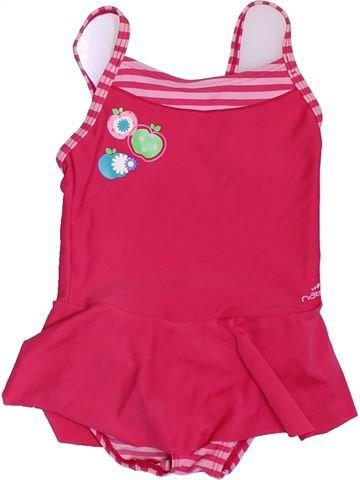 Bañador niña NABAIJI rosa 3 años verano #1397977_1