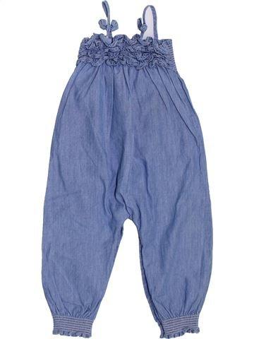 Combinaison longue fille GRAIN DE BLÉ bleu 18 mois été #1398046_1