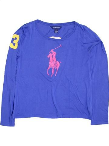 T-shirt manches longues fille RALPH LAUREN bleu 14 ans hiver #1398342_1