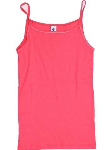 T-shirt sans manches fille PETIT BATEAU rose 16 ans été #1398344_1