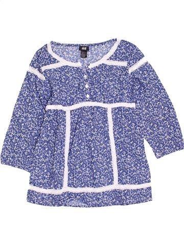 Blouse manches courtes fille H&M violet 14 ans été #1398359_1