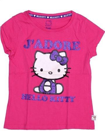 Camiseta de manga corta niña HELLO KITTY rosa 8 años verano #1398402_1