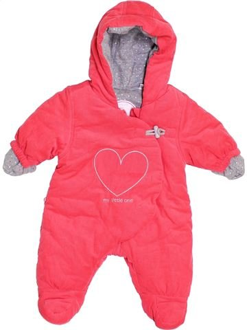 Mono-polar niña OKAIDI rosa 3 meses invierno #1398527_1