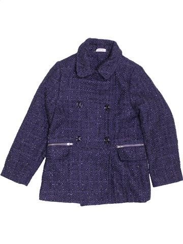 Manteau fille GEORGE bleu 7 ans hiver #1398664_1