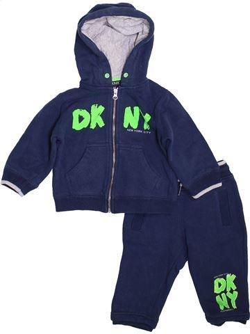 Conjunto niño DKNY azul 12 meses invierno #1399149_1
