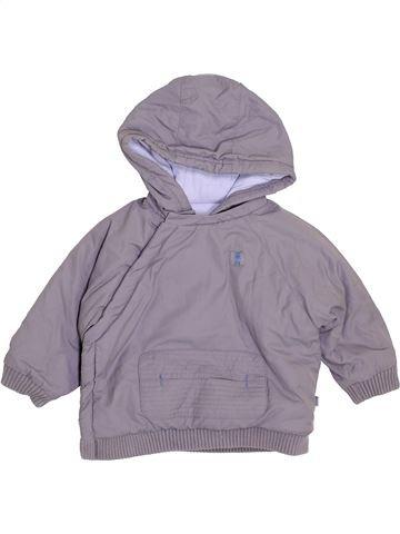 Blouson garçon OKAIDI gris 12 mois hiver #1399161_1