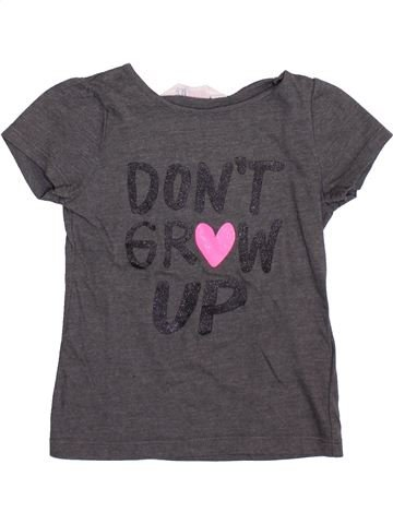 T-shirt manches courtes garçon H&M violet 6 ans été #1399179_1