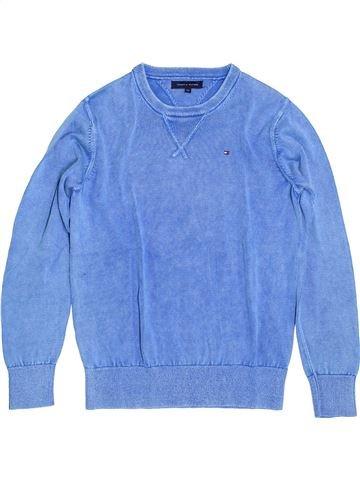 jersey niño TOMMY HILFIGER azul 12 años invierno #1399386_1