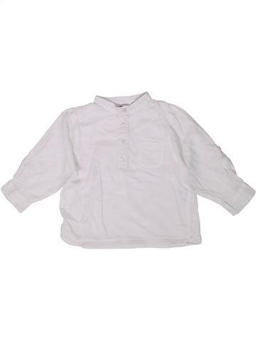 Chemise manches longues garçon KIABI blanc 18 mois hiver #1399495_1