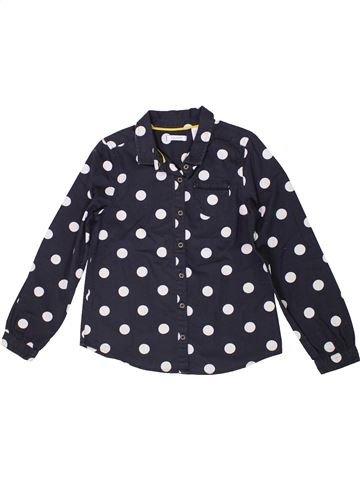 Blusa de manga larga niña OKAIDI negro 8 años invierno #1399548_1