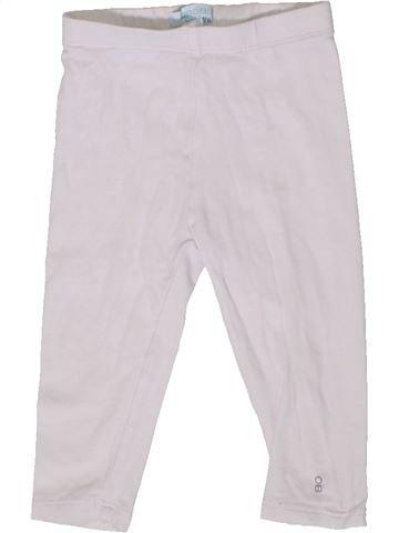 Legging niña OKAIDI blanco 9 meses invierno #1399573_1