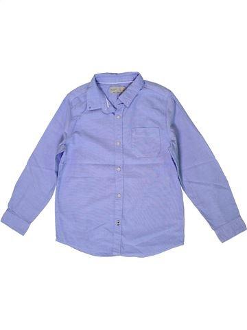 Camisa de manga larga niño ZARA azul 7 años invierno #1399691_1