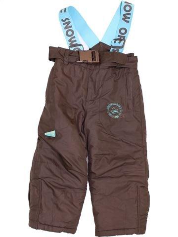 Esquí niño ORCHESTRA marrón 3 años invierno #1399888_1