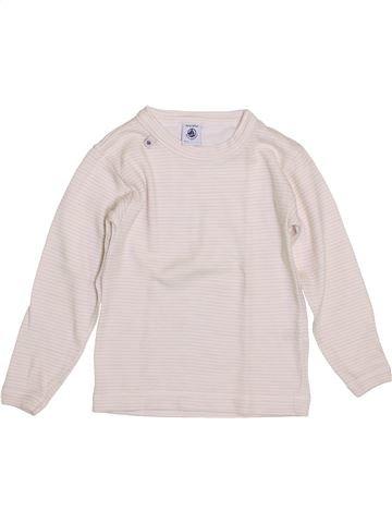 Camiseta de manga larga niña PETIT BATEAU violeta 5 años invierno #1399947_1