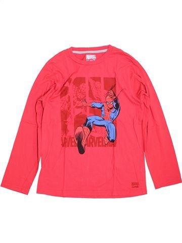 T-shirt manches longues garçon SUPERS HÉROS rouge 12 ans hiver #1400022_1