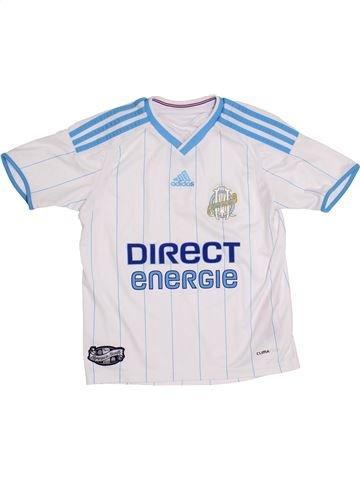 Camiseta deportivas niño ADIDAS blanco 8 años verano #1400025_1