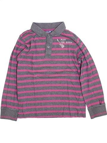 Polo manches longues garçon KIABI gris 10 ans hiver #1400027_1
