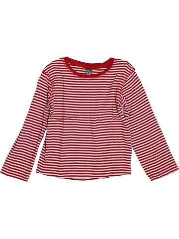 T-shirt manches longues garçon ZARA marron 5 ans hiver #1400110_1