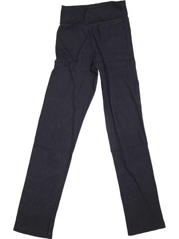 Pantalon fille PETIT BATEAU noir 14 ans hiver #1400290_1