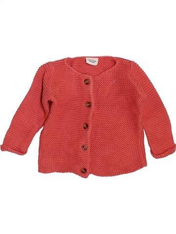 Chaleco niña TAPE À L'OEIL rojo 6 meses invierno #1400401_1