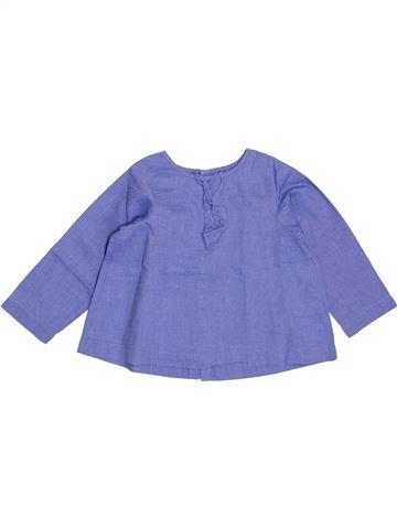 Blusa de manga larga niña JACADI azul 18 meses invierno #1400437_1