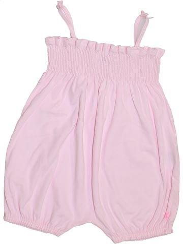 Combinación corta niña PETIT BATEAU rosa 2 años verano #1400463_1