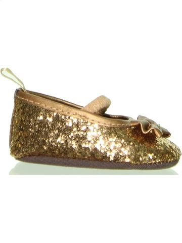 Zapatos bebe niña TAPE À L'OEIL marrón 3 meses verano #1400470_1